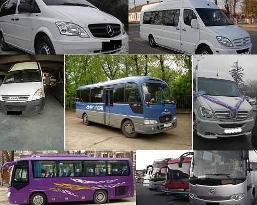 Наем автобуса в Краснодаре